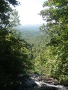 View from the top of Amicalola Falls State Park in Georgia.